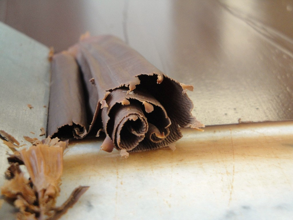 tempered chocolate